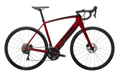 Trek Domane+ ALR Shimano 105 Crimson Red Trek Black