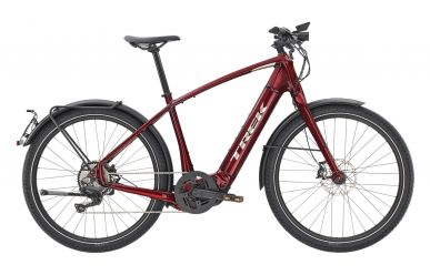 Trek Allant+ 8S Bosch Performance Speed 75Nm 45km/h Akku  625Wh Rage Red