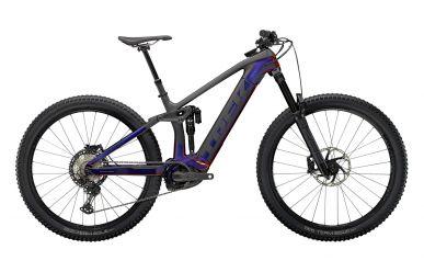 Trek Rail 9.8 Shimano XT Gloss Purple Phaze Matte Raw Carbon