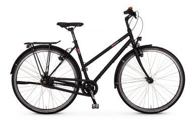 VSF fahrradmanufaktur T-300 Shimano Nexus 8 Premuim, Ebony Metallic, Trapez