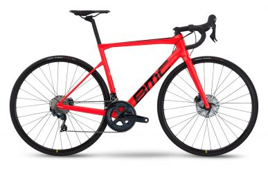 BMC Teammachine SLR FIVE Shimano Ultegra Neon Red & Black