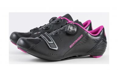 Bontrager Anara Womens Road Schuh Black Pink