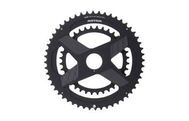 Rotor NoQ-Ring Directmount Kettenblatt Schwarz rund