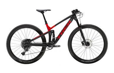 Trek Top Fuel 8 Sram NX Eagle Matte Trek Black Gloss Viper Red