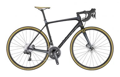 Scott Addict SE disc pearl black tone dark grey gold