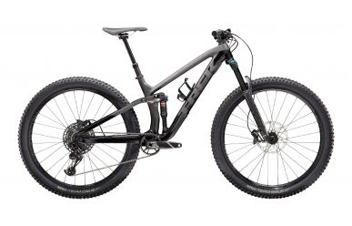 Trek Fuel EX 9.7 Sram GX / NX Eagle Matte Raw Carbon Gloss Trek Black