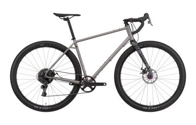 Rondo Bogan ST Bikepacking Gravel Bike Sram Apex 1x11 MIX Silver Grey