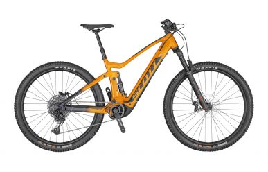 Scott Strike eRIDE 920 tangerine orange dark grey