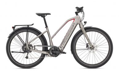 Diamant Zouma+ Bosch Performance CX 500Wh Iridiumsilber Metallic Gravel GOR