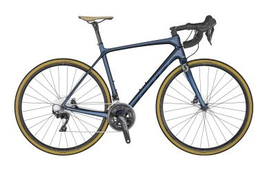 Scott Addict 20 disc dark blue tone blue champagne