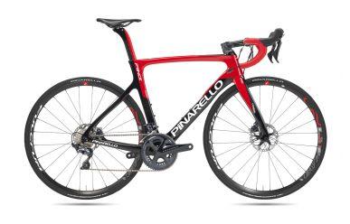 Pinarello Prince Disk, Shimano Ultegra Di2, Fulcrum Racing 4 Carbon Laufräder 274 Black Red