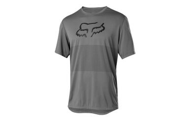 Fox Racing RANGER SS FOXHEAD Jersey Men Pewter