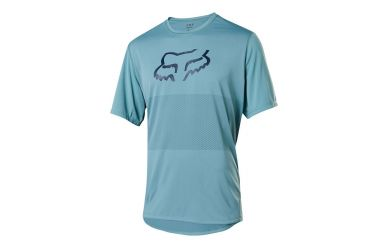 Fox Racing RANGER SS FOXHEAD Jersey Men Light Blue