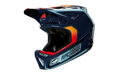 Fox Racing RPC DAIZ Full Face Helm Navy