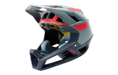 Fox Racing PROFRAME QUO Full Face Helm Light Blue