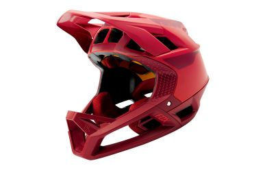 Fox Racing PROFRAME QUO Full Face Helm Bright Red