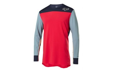 Fox Racing DEFEND DELTA LS Jersey Men Bright Red