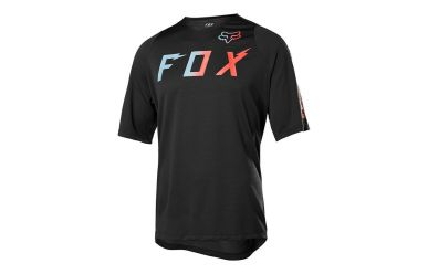 Fox Racing DEFEND SS WURD Jersey Men Black