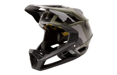 Fox Racing PROFRAME CAMO Full Face Helm Green Camo