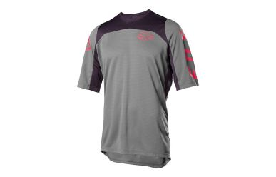 Fox Racing DEFEND SS FAST Jersey Men Pewter