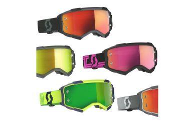 Scott Fury Goggle Enduro Brille mit Lens Lock System
