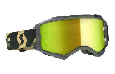 Scott Google Fury Enduro Brille mit Lens Lock System Camo Kaki