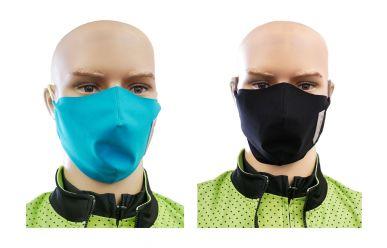 Q36.5 Mund- und Nasentuch mit verstellbarem Gummiband