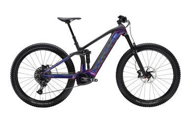 Trek Rail 9.7 Sram NX Eagle Gloss Purple Phaze Matte Raw Carbon