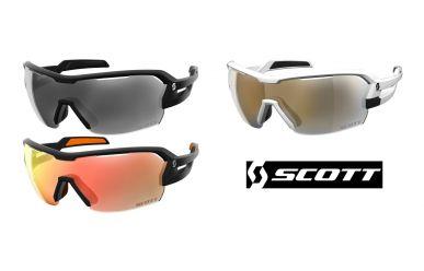 Scott Sunglasses Spur Sonnenbrille, Gläser Red Chrome Enhancer und Clear