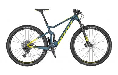 Scott Spark 950 Cobalt Green Radium Yellow