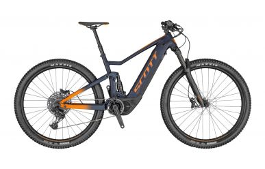 Scott Spark eRIDE 920 Abyss Blue Fox Orange