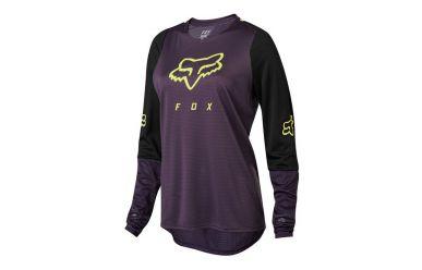 Fox Racing DEFEND LS Jersey Women Dark Purple