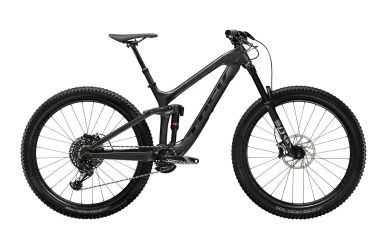 Trek Slash 9.8 29 Matte Carbon Voodoo Trek Black