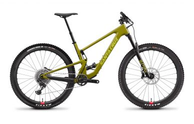Santa Cruz Tallboy 4 CC X01 Sram X01 Eagle Reserve Laufräder Rocksteady Yellow