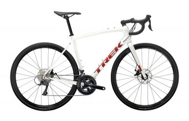 Trek Domane AL 3 Disc Shimano Sora Christal White Matte Trek Black