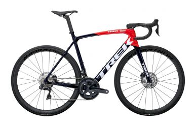 Trek Emonda SLR 7 Disc Shimano Ultegra Di2 Navy Carbon Smoke Viper Red