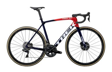 Trek Emonda SLR 9 Disc Shimano DuraAce Di2 Power Navy Carbon Smoke Viper Red