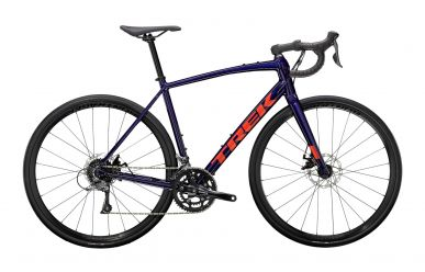 Trek Domane AL 2 Disc Shimano Claris Purple Abyss Trek Black