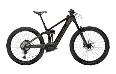 Trek Rail 9.8 Shimano XT Carbon Red Smoke Lithium Grey