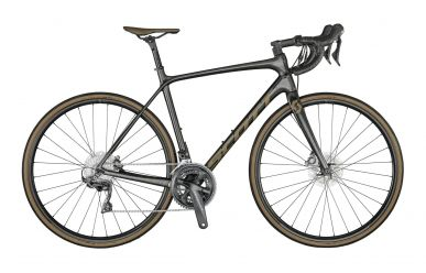 Scott Addict 10 Disc Carbon Black Brown