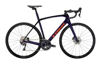 Trek Domane SL 6 Disc Shimano Ultegra Purple Abyss Trek Black