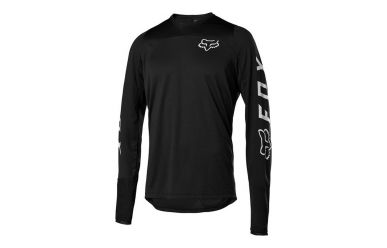 Fox Racing DEFEND LS Langarm FOX Jersey Men Black