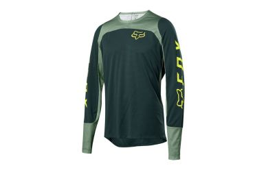 Fox Racing DEFEND LS Langarm FOX Jersey Men Emerald