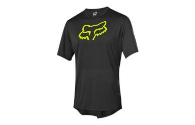 Fox Racing RANGER SS Kurzarm Foxhead Jersey Men Black Yellow