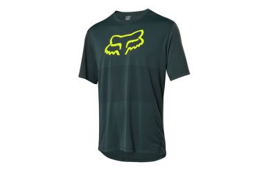 Fox Racing RANGER SS Kurzarm Foxhead Jersey Men Emerald