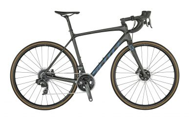 Scott Addict SE Disc carbon raw cameleon green