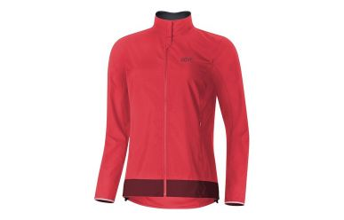 Gore C3 Windstopper Classic Jacke women hibiscus pink chestnut red