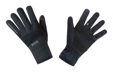 Gore M Windstopper Thermohandschuhe black
