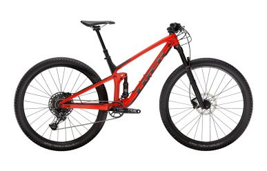 Trek Top Fuel 9.7 Sram NX Eagle Gloss Red Carbon Smoke