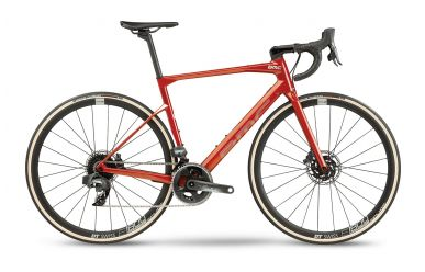 BMC Roadmachine ONE Sram Force AXS HRD Red Amber Silver